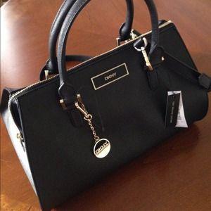 672269e65 DKNY Bags | Saffiano Leather Statchel | Poshmark
