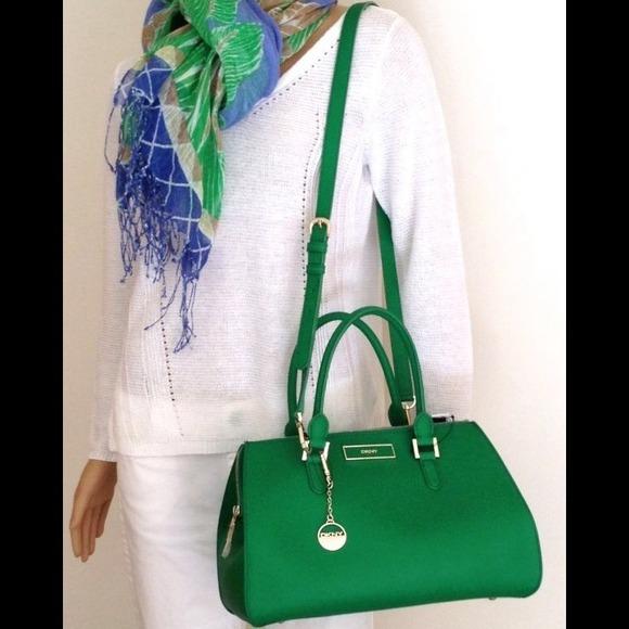 19% off DKNY Handbags - DKNY Saffiano Leather Bag from Muni's ...