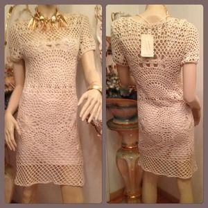 HPZara Hand Knit Crochet Dress