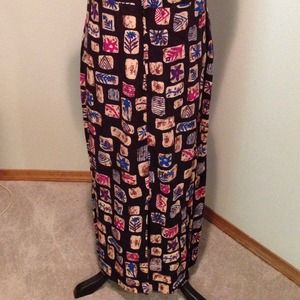 Paw Paw Dresses - Caribbean Colors Maxi Dress in size L