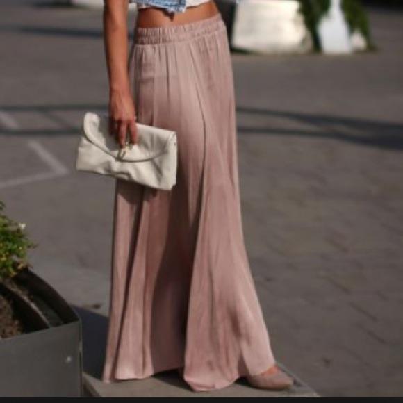 40 zara dresses skirts nwt zara maxi skirt in