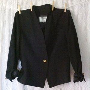 Black Contemporary  Blazer
