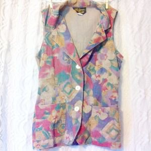 Colorful Abstract Vest