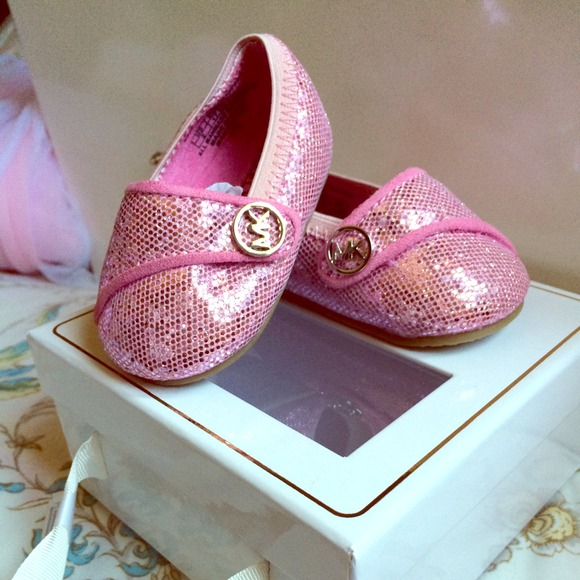 33% off Michael Kors Other - Baby girl MK shoes size 2 from ...