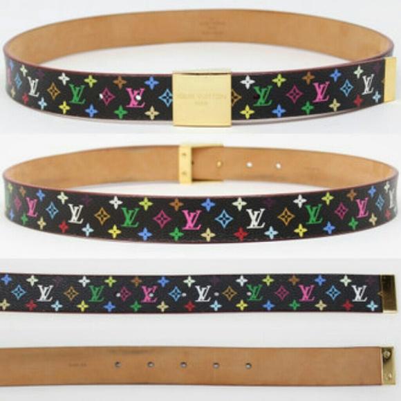 d153223c6d34 Louis Vuitton Accessories - Louis Vuitton Monogram Multi-Color Belt