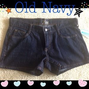 🎉💃NWT Diva Dark Denim Shorts size 8💃🎉