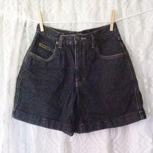 20% OFF Now-8/8! Black Highwaisted Denim Shorts