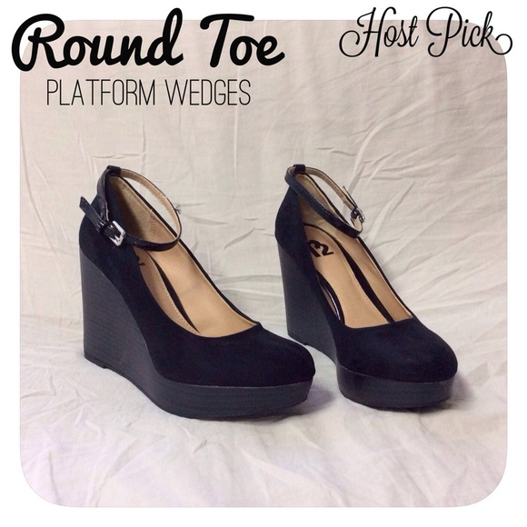 Report shoes wedges