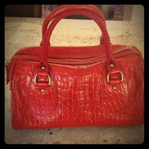 Banana Republic leather bag!