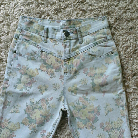 Urban Outfitters Jeans - BDG UO High rise floral jeans