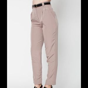 American Apparel Pants - American Apparel High Waist Pleated Pant