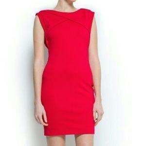 Mango Ferry Dress - Red