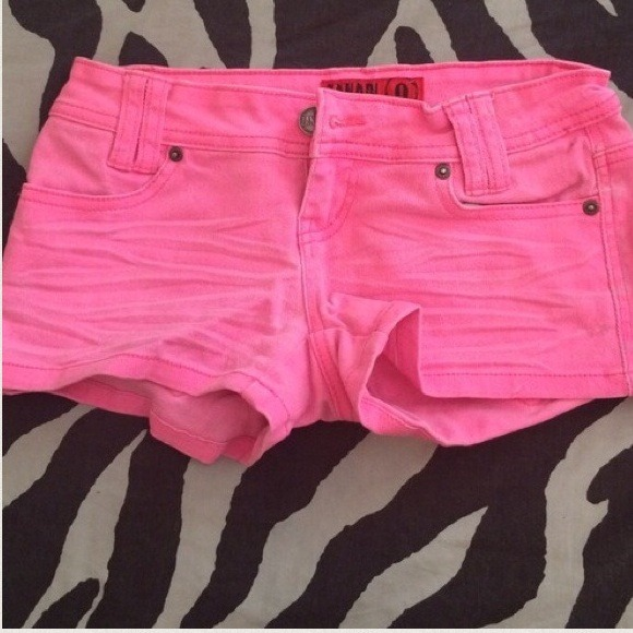 52% off Wet Seal Denim - 🚫🚫BUNDLED🚫🚫Bright Neon Pink Jean ...