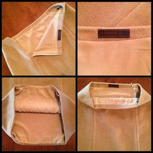 d1aec91524c9 Prada Skirts - 💯Authentic Prada Camel Midi Skirt - Size 42   6