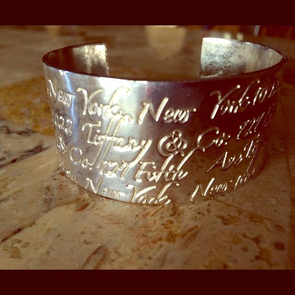 Tiffany Heart Bracelet >> Tiffany & Co. Jewelry   Tiffany Anniversary Cuff Bracelet ...