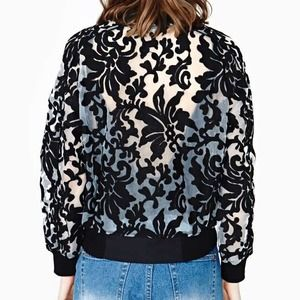 Stone Cold Fox Jackets & Coats - Cameo locked up bomber jacket