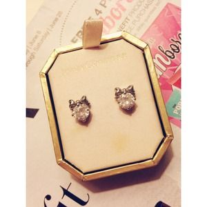 Juicy Couture Bow Studs
