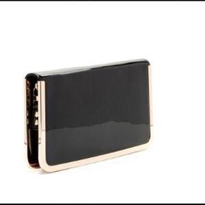 moda luxe Bags - Moda luxe flora black clutch