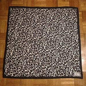 Juicy couture silk leopard scarf!