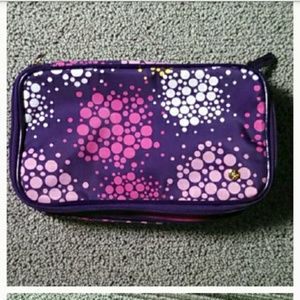 Stephanie Johnson make up/ accessory clutch NEW