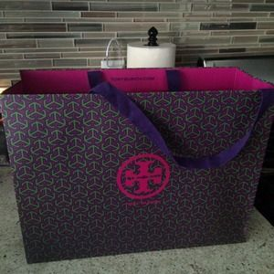 Authentic Tory Burch Large Shopping Bag
