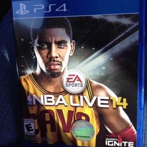 NBA Live 14 game for PS4