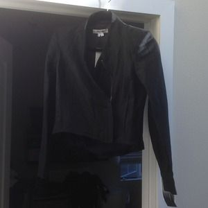 Helmut Lang black cropped jacket NWT Price drop!