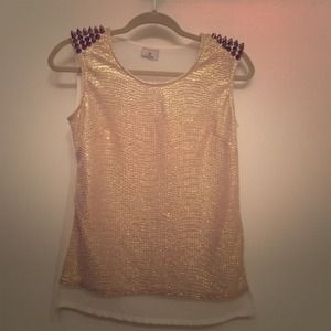 Gold Stud Top 