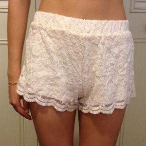 Brandy Melville Other - Brandy Melville lace shorts