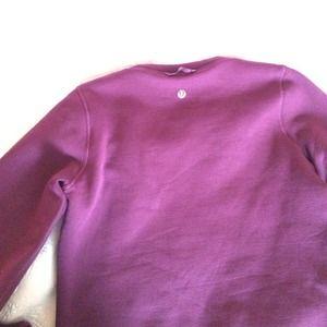lululemon athletica sweaters  lululemon purple fleece