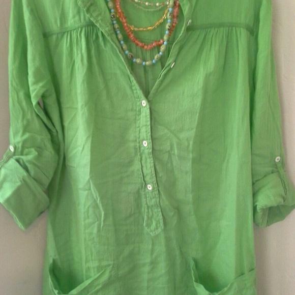 56 off zara dresses skirts zara basic apple green for Apple green dress shirt