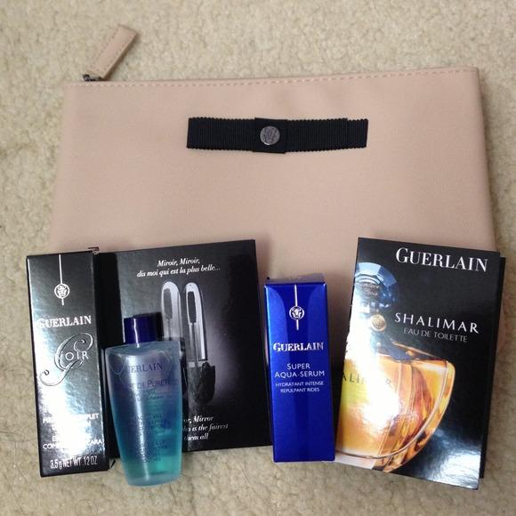 guerlain makeup bag