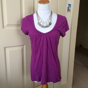 Old Navy Tops - Fuchsia V Neck Top