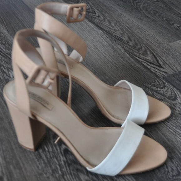 Zara - ZARA MID-HEEL SANDALS WITH ANKLE STRAP EUR41/US10 from ...
