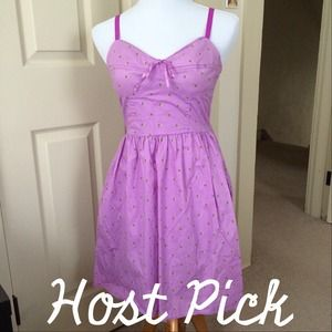 Mossimo Supply Co. Dresses & Skirts - HP! Gorgeous Purple Cotton Summer Dress w/Pockets
