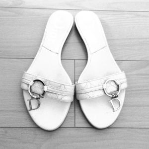% Authentic Christian Dior slippers