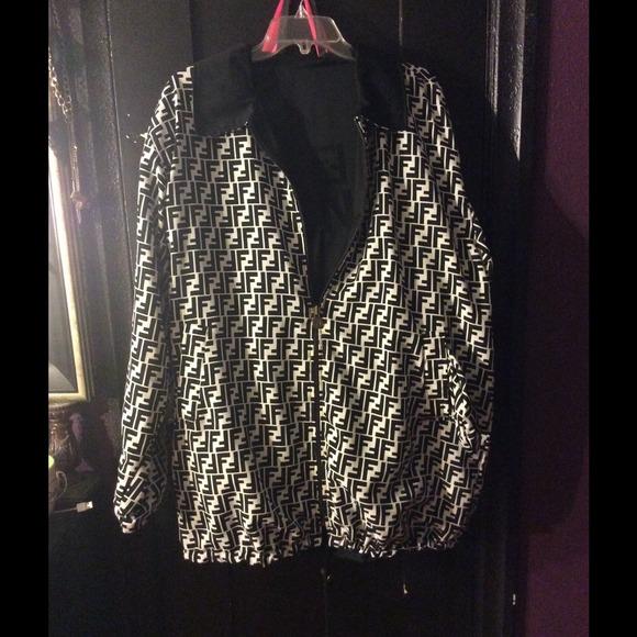 86d4d07dd5 FENDI Jackets & Coats | Reversible Jacket | Poshmark