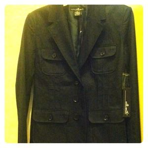 BNWT Willi Smith dark denim blazer