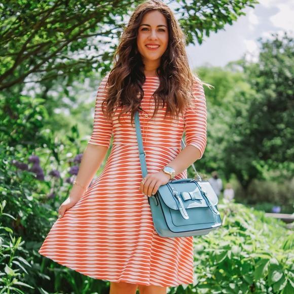 Handbags - Blue bow handbag