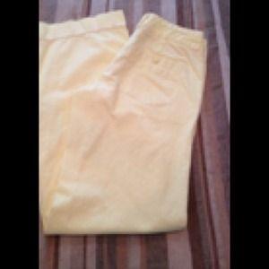 Canary Yellow Chino pants American Eagle