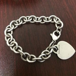 Tiffany Co Sterling Silver bracelet.