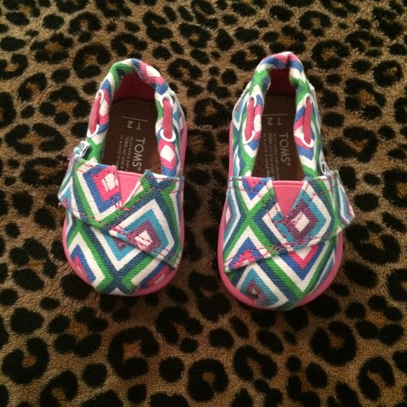Toms Shoes   Baby Girl Toms   Poshmark