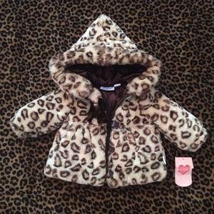 Other - Baby girl cheetah coat