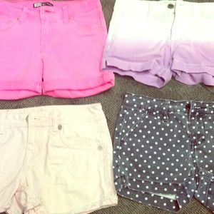 Denim - Girl's size 10 shorts bundle