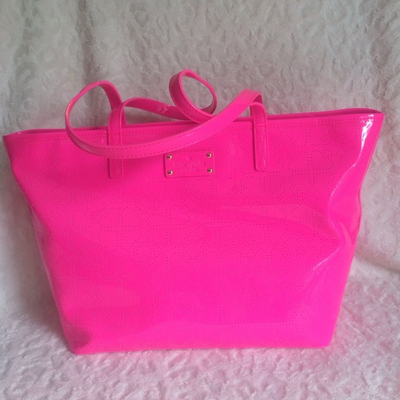 12% off kate spade Handbags - Kate Spade Pink Patent Leather from ...