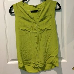 Urban Outfitters Electric Green blouse