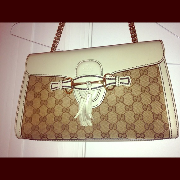 921d0638d878 Gucci Handbags - SALE Gucci - Emily original GG canvas shoulder bag