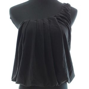 MAX STUDIO blouson pleated top *WAS $40*