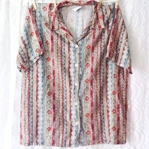 Tribal Button Up