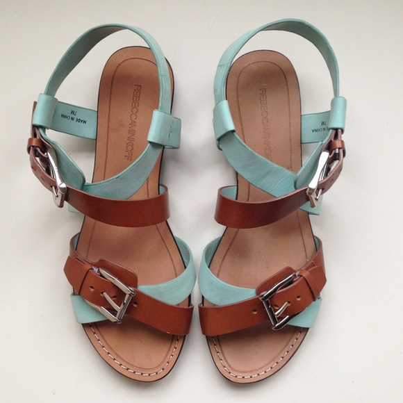 Rebecca Minkoff Shoes - *2x Host Pick* Leather & Suede Sandals